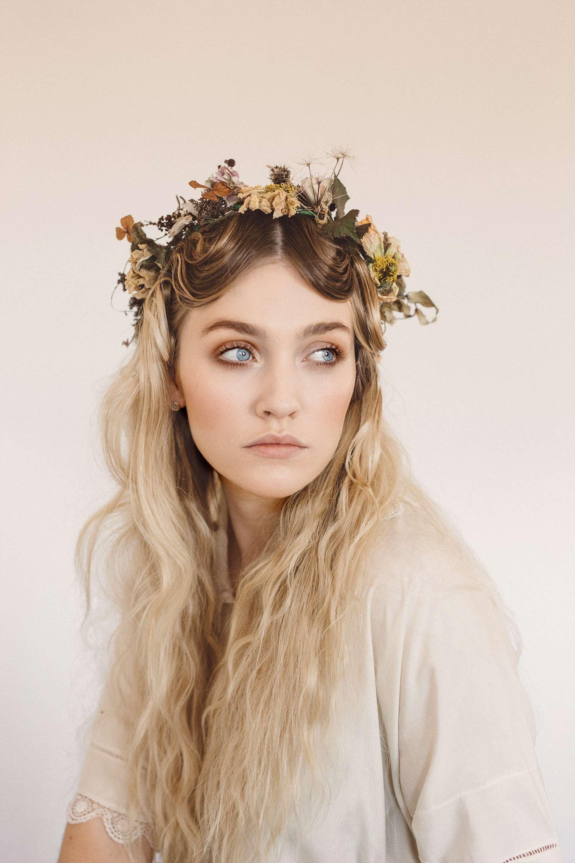 Ukranian Flower Crowns Styled Shoot