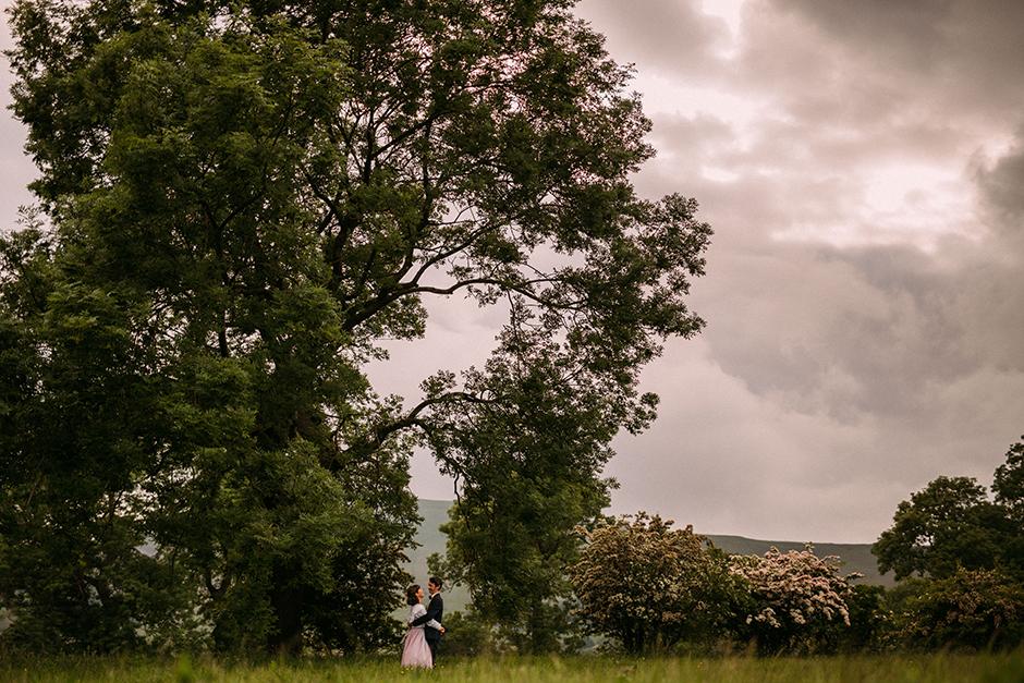 Peak District Wedding at the Castleton Rotary Club